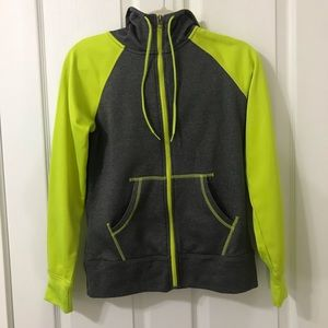 Champion Semi Fitted Zip Up Hooded Jacket Size XS